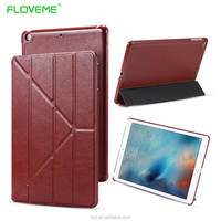 Top Selling Products In Alibaba Shockproof Slim Fold Pu Leather Flip Case For IPad 5 FLOVEME Air