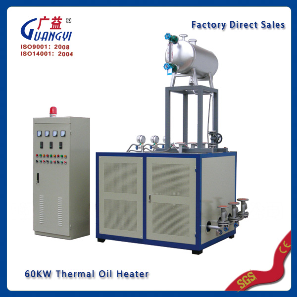 industrial electric thermal hot oil heater thermal oil boiler thermal oil heating system Guangyi factory direct sales