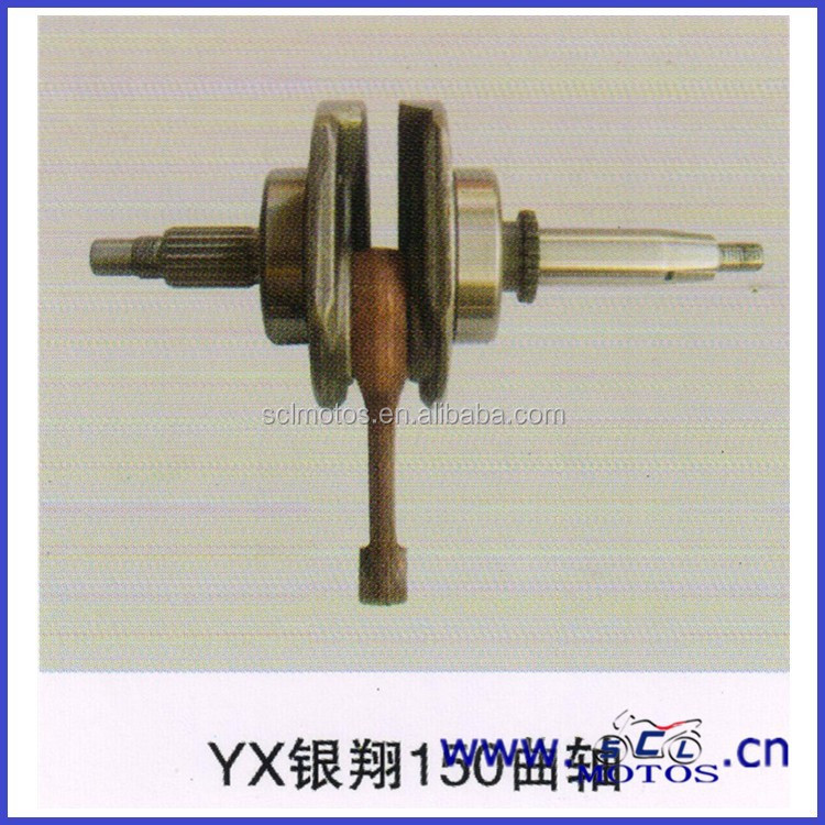 SCL-2013072380 YX 150cc engine spare parts crank shaft with position