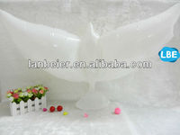 Biodegradable white Dove Balloons,fly sky wedding doves