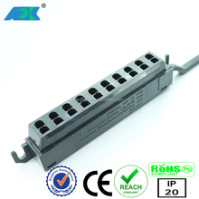 LED power supply 12 V / DC AMP 10-way distributor, power 60 W for led kitchen lights
