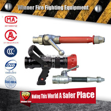 Fire fighting spray type pipe nozzle