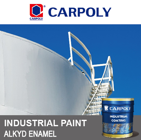 CARPOLY Alkyd Enamel, BC530 Industrial paint, High-performance Anticorrosive Deck Paint