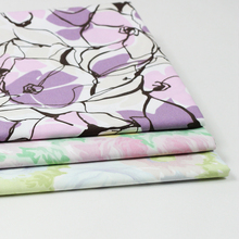 China supplier wholesale custom printed organic cotton fabric