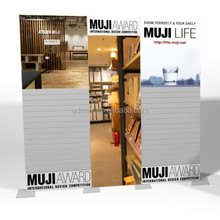 Portable Slat wall for trade show exhibition