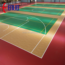 pvc sports flooring,basketball / gymnasium pvc floor