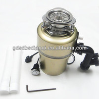 3/4HP Kitchen Waste Disposer Food Garbage Sink Disposal Air Switch IN Gold