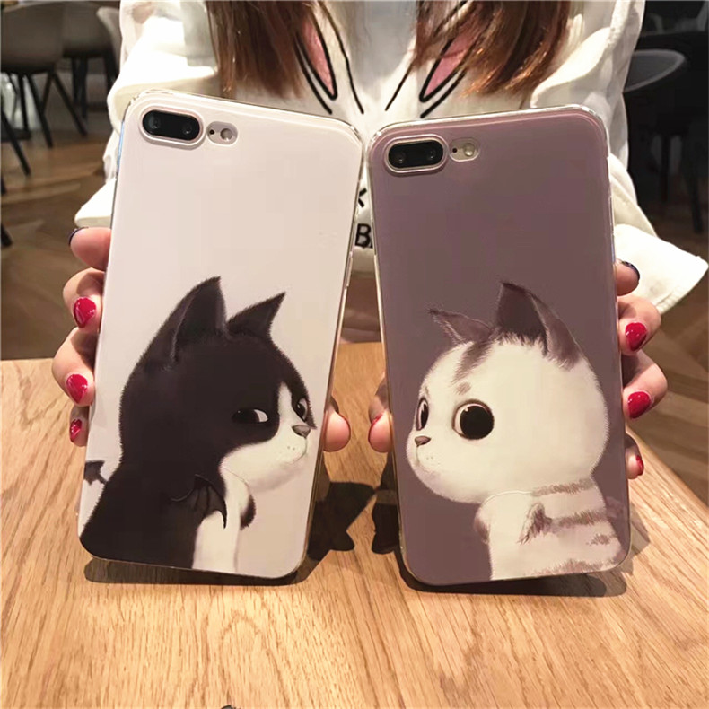 Guangzhou Huashi Factory Couple Phone Case for iPhone 7plus 5.5inch