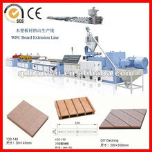 wood ceiling profile production line/extruders/plastic extrusions