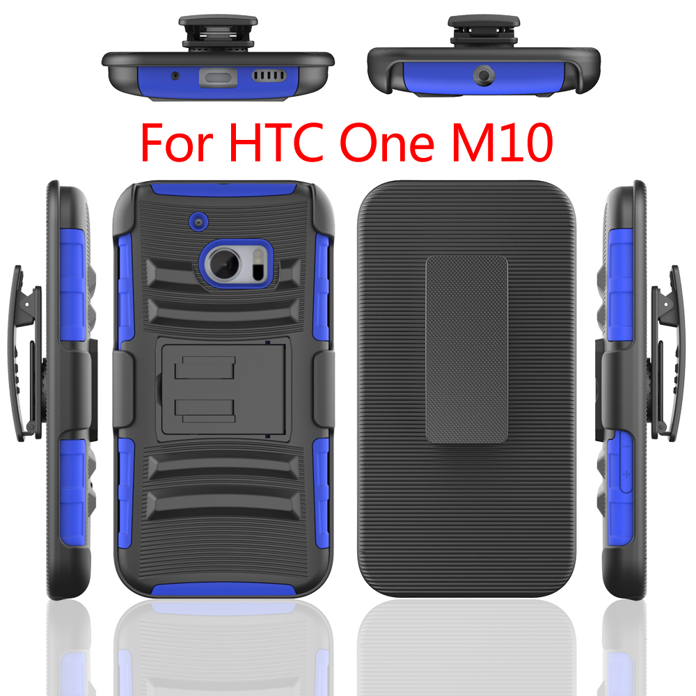 3 in 1 hot sale US market Shockproof Pc+Tpu Hard Kickstand Back Case For Htc one <strong>M10</strong>