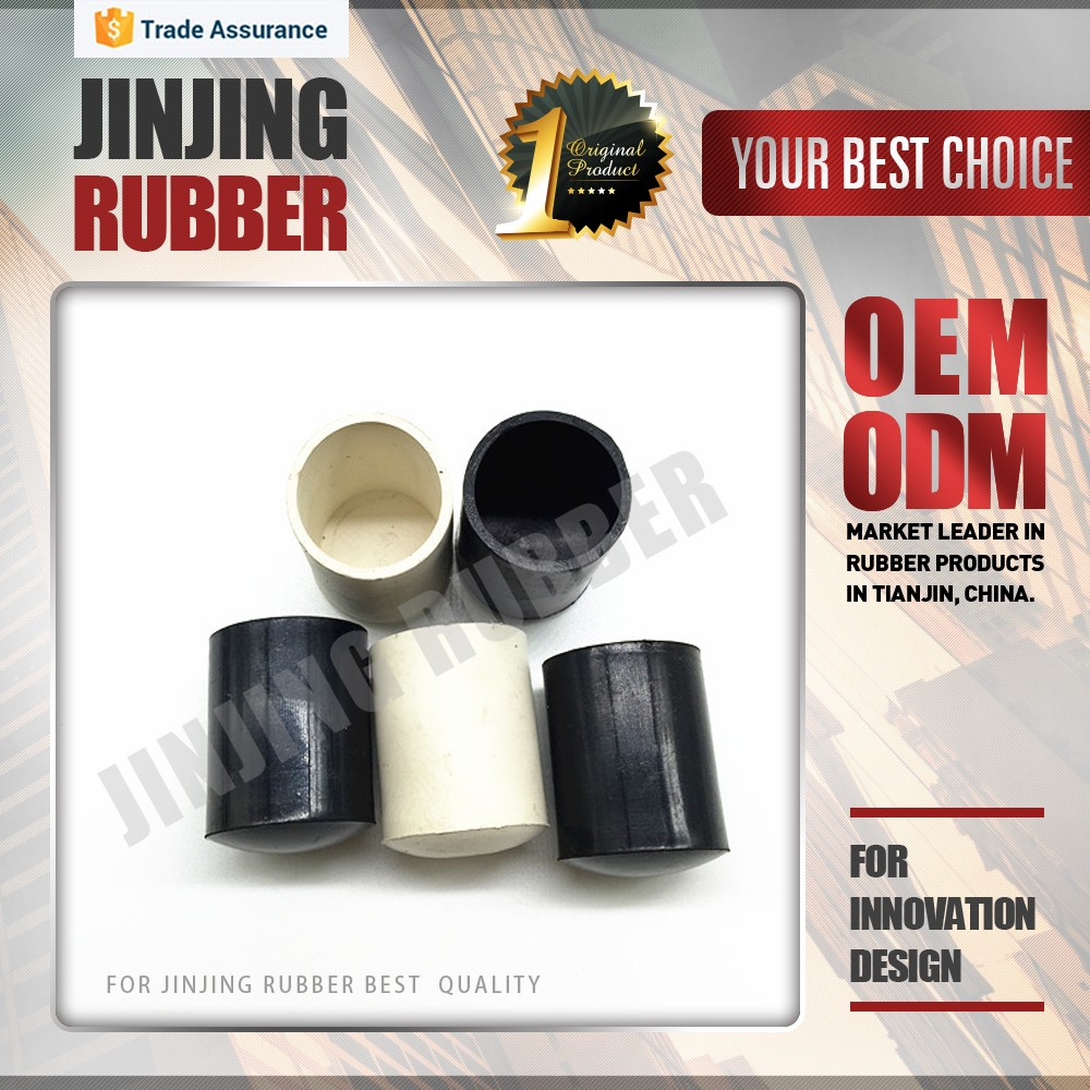 Custom shaped and material general rubber sheath / chair leg rubber sheath