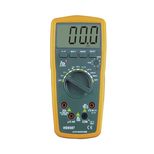 Handheld auto range DMM meter / fluke Digital Multimeter / Digital multitester meter for home