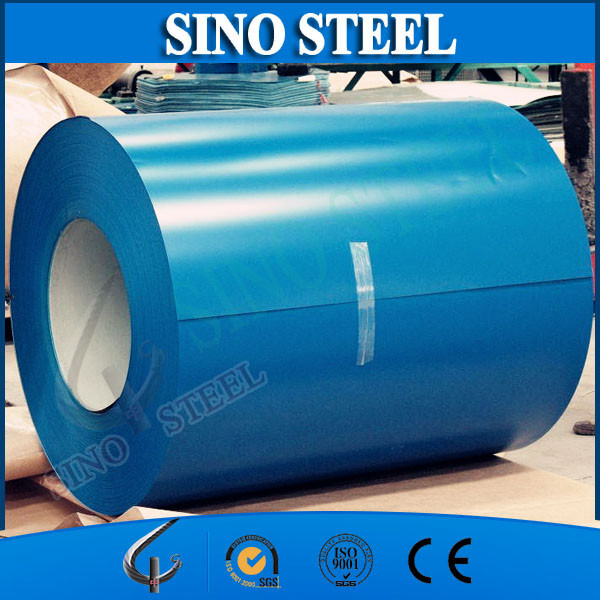Prime DX51D color coated galvanized steel coil prepainted steel coil price per kg