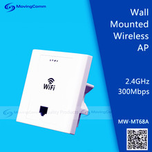 2.4GHz 300Mbps Wireless Inwall Mounted AP/ WiFi AP for home application