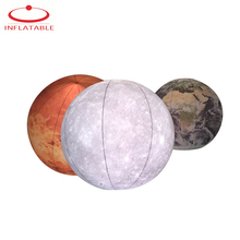 3 Pieces Light Giant Inflatable Earth Planet Balloon