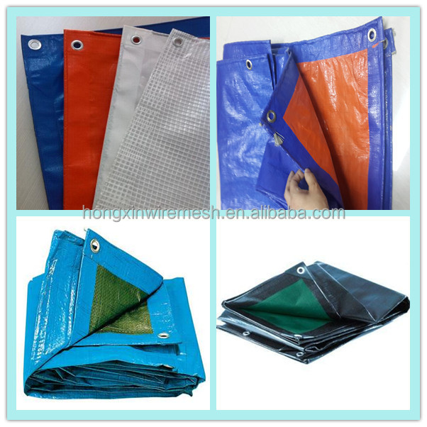 70gsm snow protection PE tarpaulin
