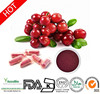 2015 HOT-SELLING!! 100% Natural Cranberry extract 8% PAC/proanthocyanidins powder/Customezied GMP Cranberry capsules
