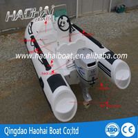 11.8ft 360cm luxury inflatalbe RIB boat outboard engine