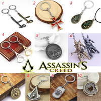 2007 Game products Assassin's Creed key chains