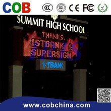 China lowest price in China P10 DIP Single Color led projector module and Sign