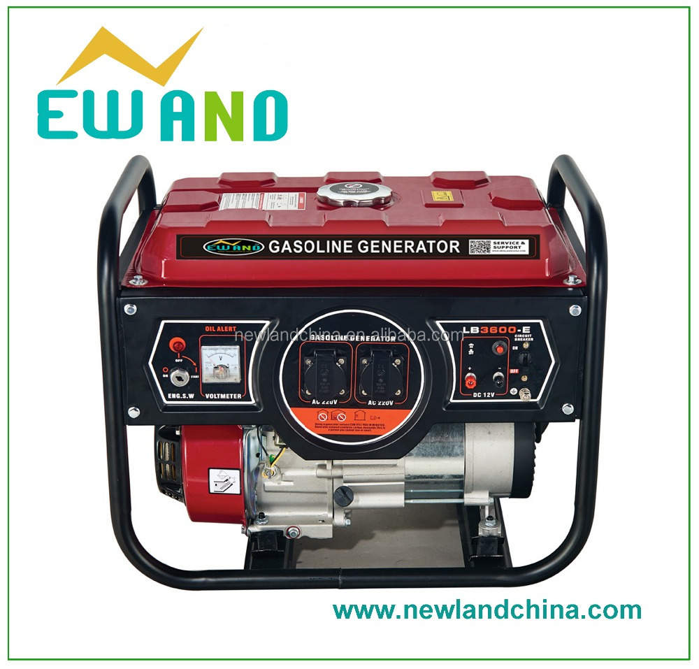 Hot selling 6.5hp 168F-1/Home use 2.5kw Honda Gasoline generator