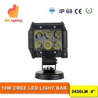 4INCH 18W 1800LM LED WORK LIGHT BAR SPOT/COMBO LIGHT 4X4 OFFROAD LAMP 10-30V