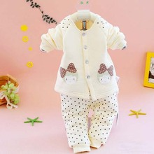tcL3018 newborn clothes wholesale autumn new models cute bamboo baby underwear for girls