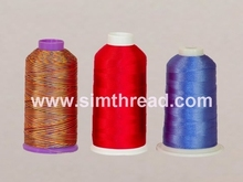 100% Dyed Viscose Rayon Embroidery Thread 120D/2