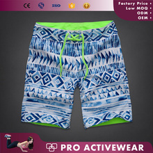 Hot sale factory OEM sublimation printing mens swimwear/board shorts