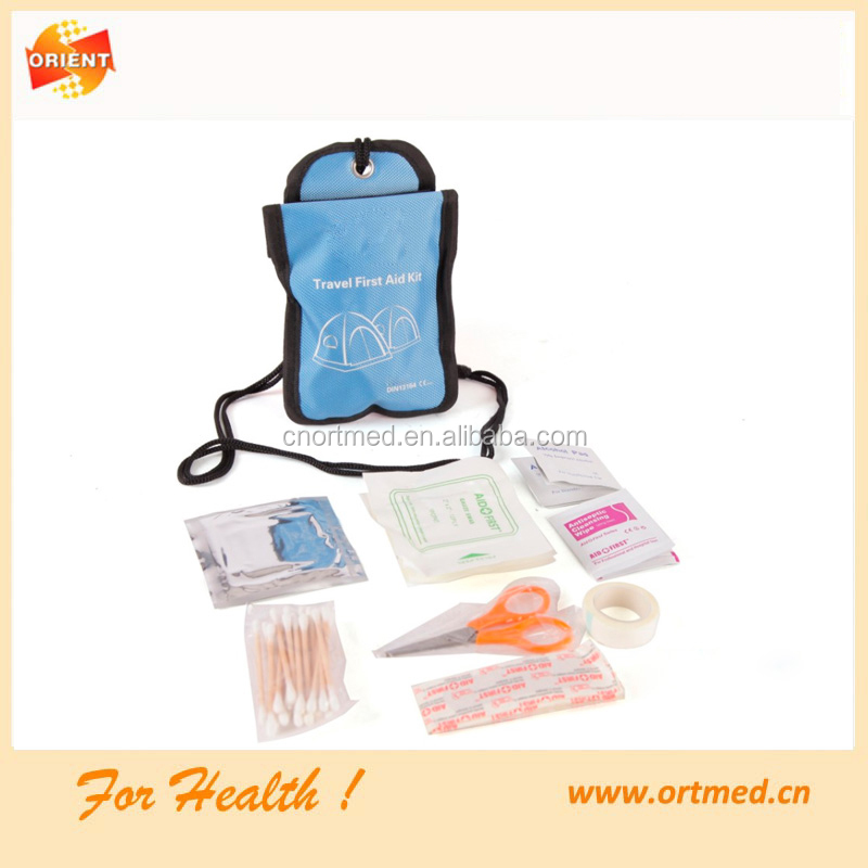 first aid kit for outdoor travel, disaster survival