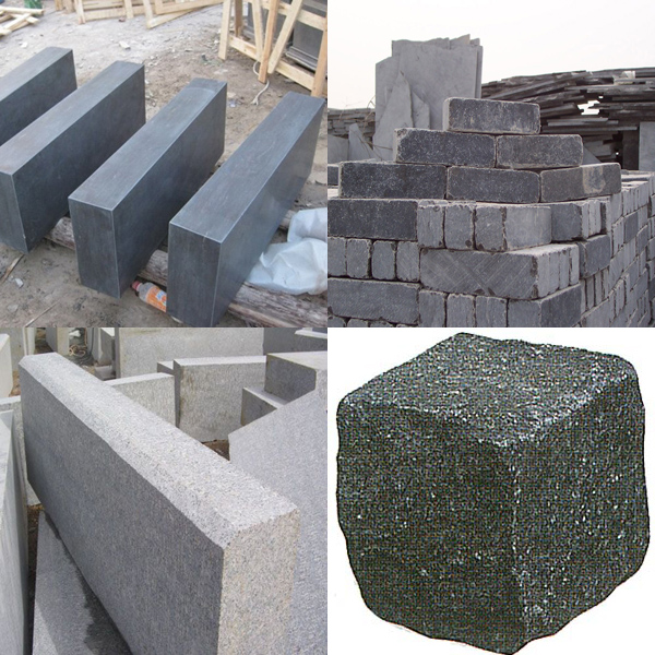 Decorative stone G343 Grey Granite Edging Border Stone/landscaping edging stones
