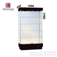 High End Black School Trophy Glass Cabinet Watch Shop Display