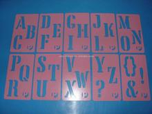 Wholesale PP material plastic stencils With Bottom Price