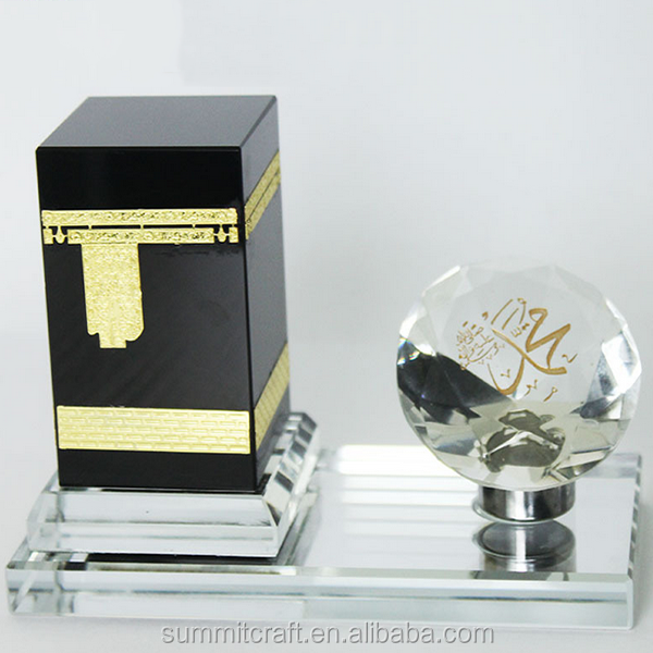Crystal unique islamic gift promotional ramadan gift