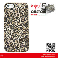 High quality water imprint PC back cover for iphone 5