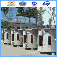 ISO9001 induction smelter for copper