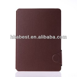 Book Style Leather Case For iPad Air,Folio PU Leather Pouch Case For Apple iPad Air