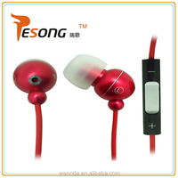 Hot Selling Unique Latest Earphone Computer Accessory With Mic And Volume Control