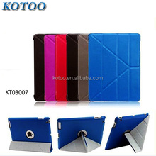 Rotation case for ipad mini 4 back cover / multi-color pu leather cover case for ipad mini stand case