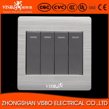 good price australia standard 4 gang 1 way electric wall <strong>switch</strong>