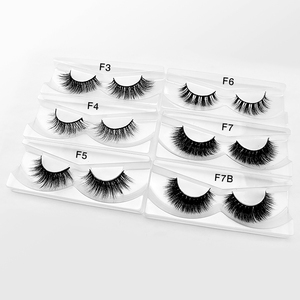 Whosale mink eyelashes real mink fur custom packaging box private label lashes eyelashes mink