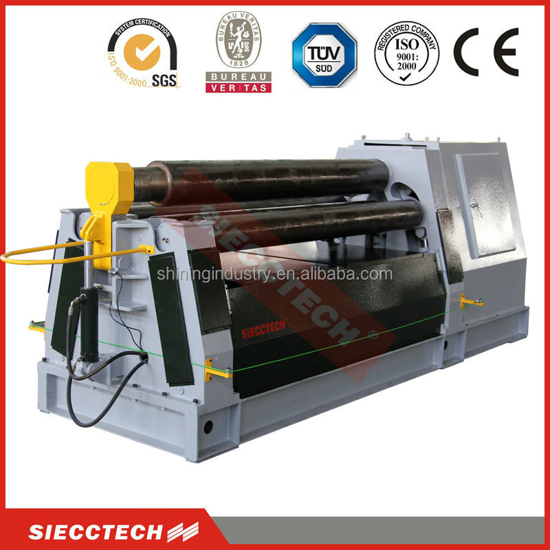 SIECC/HECT joint aluminium rolling machine, four rollers automatic hydraulic rolling machine with competitive price