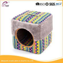 Beautiful and new design cotton canva pet cat window bed