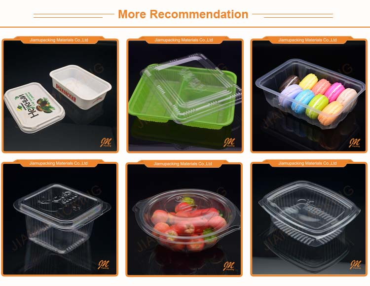 Transparent Plastic Macaron Packaging Box