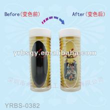 2014 Hot Sale!!! Plastic Thermal Cup with Color Changing Cartoon Printing
