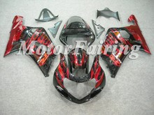 Red Flame Factory Fairings For Suzuki 2001-2003 GSX R600 GSX-R750 fairings kit