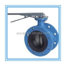 D41X-1pn10/16 Manual/Handle/Lever Operated Flange Butterfly Valve