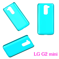 Wholesale cell phone accessory for lg g2 mini cover, crystal clear case for lg g2 mini