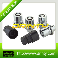 different length puzzle patten wheel locking nuts/ security nuts