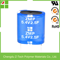 5F 5.4V 5.5V 1 Farad Capacitor 2.7V 500F35*60MM Super Capacitor